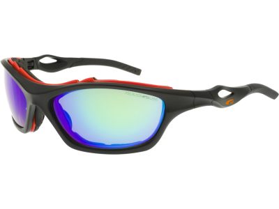 RIZA T655-2 polycarbonate matt black / orange