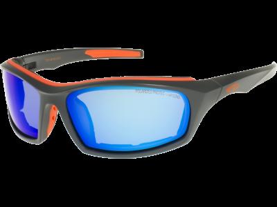 KOVER P T701-4P grilamid TR90 matt gray/orange