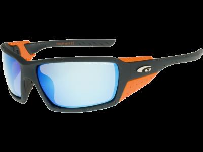 BREEZE T750-3P polycarbonate matt gray/orange
