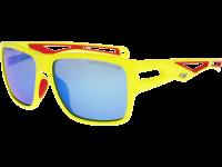 SNOWMASS T801-2P polycarbonate matt neon yellow/red