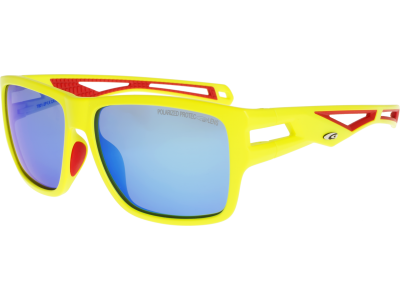 SNOWMASS T801-2P polycarbonate matt neon yellow/red