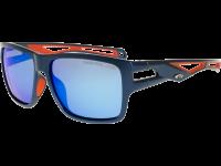 SNOWMASS T801-3P polycarbonate navy blue/orange