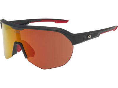 PERSEUS E501-2 grilamid TR90 matt grey / red