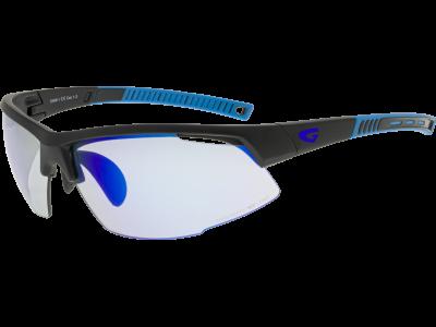 FALCON C E668-1 grilamid TR90 matt black / blue