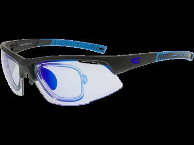FALCON C E668-1R grilamid TR90 matt black / blue