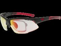 FALCON C E668-2R grilamid TR90 matt black / red